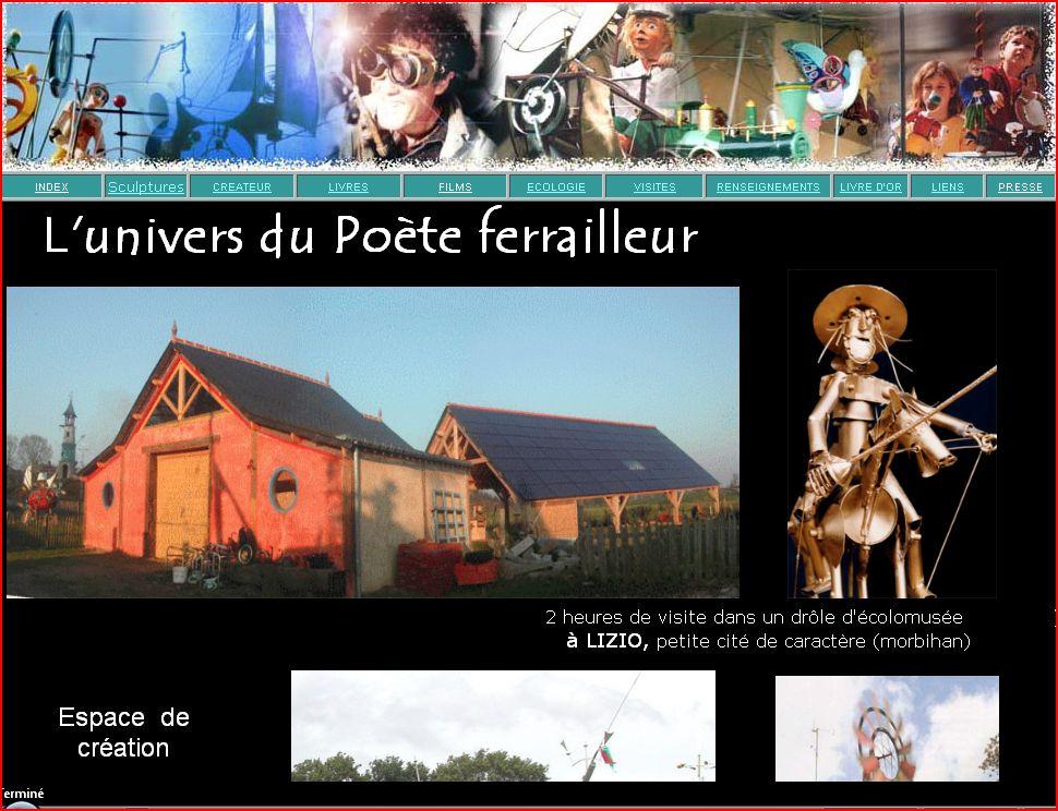 poête ferrailleur website